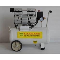 国产780W无油活塞式空气压缩机OMY-780W-24L卧式,静音无油式空压机,中低档卧式静音空压机,全无油静音空压机,小型无油压缩机