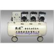 国产无油活塞式空气压缩机OMY-1500W×3-160卧式,静音无油式空压机,中低档卧式静音空压机
